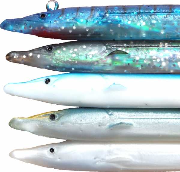 Red Gill Evo Sand Eel Lures 178mm Cod Red Gill Evolution Pollock Selection